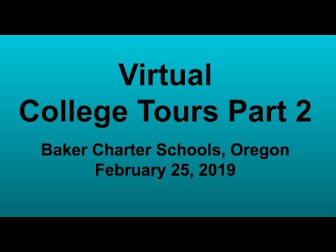 Tour Your Favorite Colleges From Your Couch! Virtual College Tours Part 2.