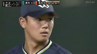 【ヤクルト・奥川恭伸】自己最多103球7回1失点の熱投で7勝目!!