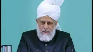 Friday Sermon: 12th March 2010 - Part 3 (Urdu)