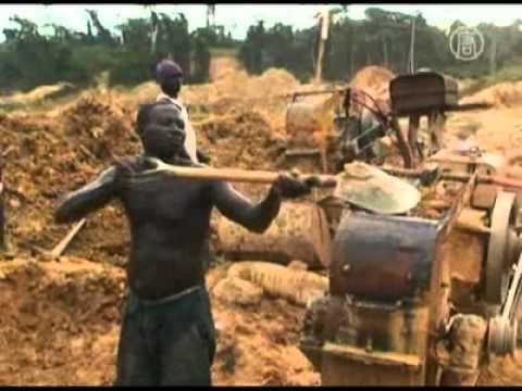 Des entreprises chinoises exploitent illégalement des mines d'or au Ghana