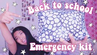 Back To School Emergency Kit For Girls | itsmeangel22