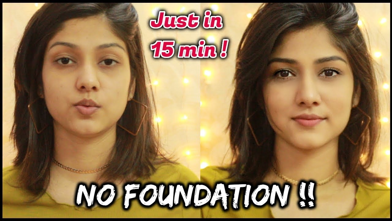 """Download """"NO MAKEUP"""" MAKEUP LOOK FOR COLLEGE/ OFFICE 