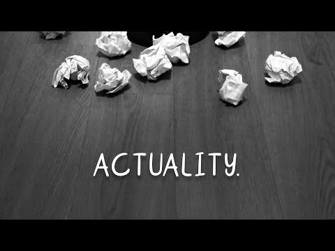 ACTUALITY - creative treatment of an actuality