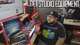 Best site to buy recording studio equipment | Microphones | Studio Monitors | Keyboards