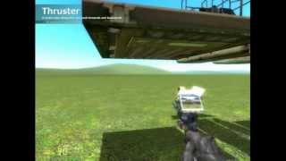 Gmod 13 (beta) -  Simple Airboat Plane Tutorial (beginner)