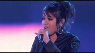 Jessica Mauboy Ft Flo Rida - Running Back(Live on idol)
