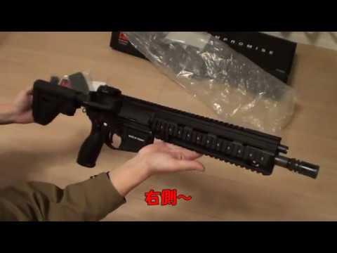 【新銃】VFC HK416A5 GBB【買いますた】