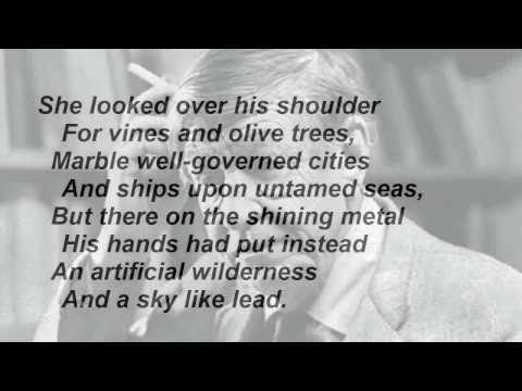 """""""The Shield of Achilles"""" by W H Auden (read by Tom O"""
