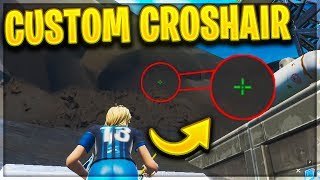 How to Get a CUSTOM CROSSHAIR in Fortnite Season 9 - Custom Crosshair Guide