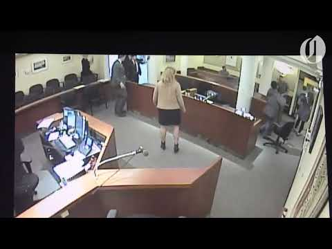 Kristina - Angry Portland Mom Punches Ex, then Deputy, in Multnomah County Courtroom