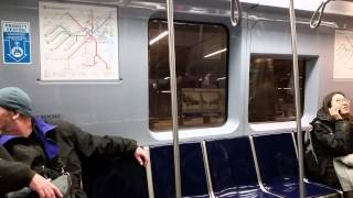 MBTA Blue Line Ride From State Street to Airport