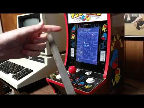 Arcade1Up 40th Anniversary PAC-Man File Hack from 300 Baud