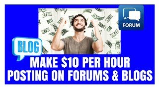 Start earning here ►►► http://moneysecrets.life/earn-now/forums ◄◄◄ click make $10 per hour posting on forums & blogs (easy money making system) $1...