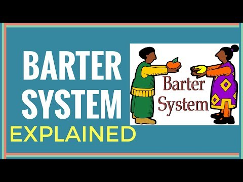Barter system explained