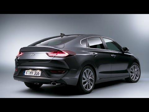 2018 Hyundai i30 Fastback – Exterior & Interior Studio Footage