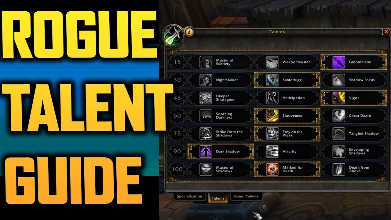 Sub Rogue Guide