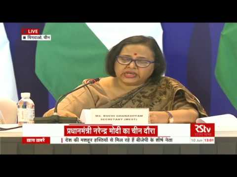 MEA press briefing on SCO summit 2018