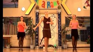 Сальса танец. Соло латина. Урок  4.