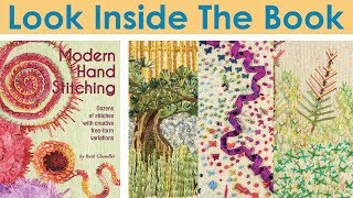 Look Inside The Book: Modern Hand Stitching