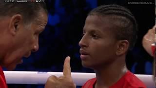 Бокс финал 2017 Хасанбой Дусматов (Узбекистан) - Хоанис Архилагос (Куба)  46-49 кг  Гамбург 2017