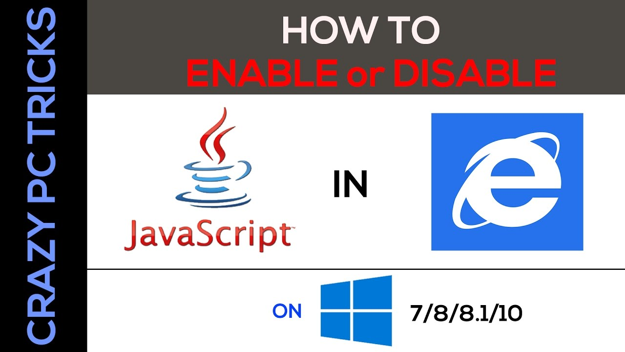How to enable java script in internet explorer on windows 7881 how to enable java script in internet explorer on windows 788110 ccuart Image collections