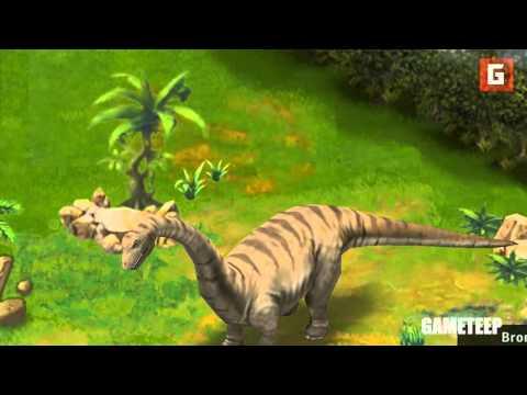 Jurassic Park Builder: Brontosaurus Evolutions Gameplay Trailer [HD]