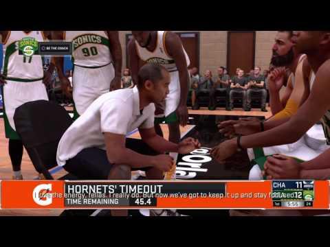 Charlotte Hornets @ Seattle Sonics - Summer League