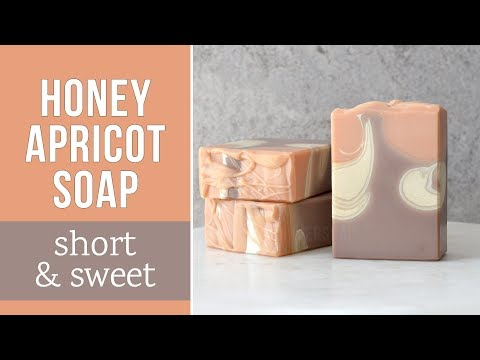 Short & Sweet: Honey Apricot Soap | MO River Soap