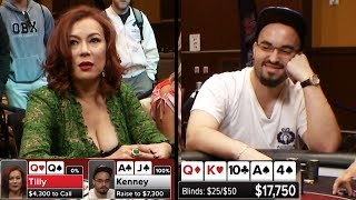 Jen Tilly CRUSHED By Bryn Kenney On The Flop | S5 E23 Poker Night in America