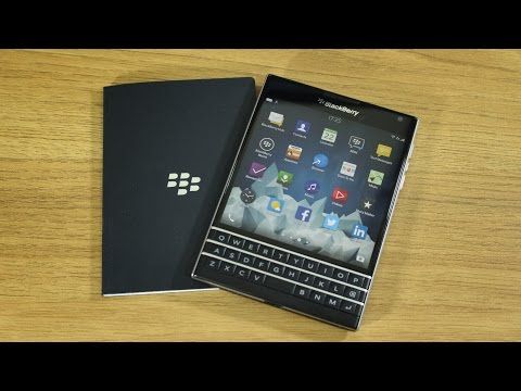 BlackBerry Passport unboxing and first impressions