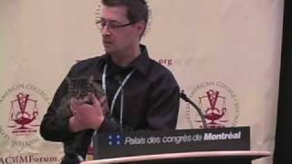 ACVIM 2009 Press Conference: Animal Survivor Stories Part I