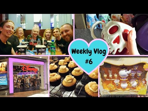 Weekly Vlog #6 | So much Disney shopping & seeing BATB live action!