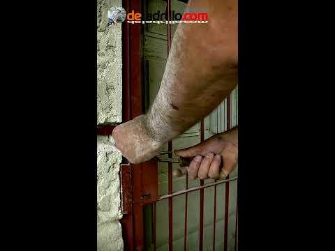 Cómo Instalar puerta reja de seguridad | Reforzar puerta de hierro