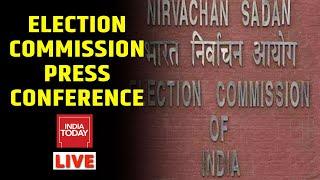Election Commission Live  EC Announces Poll Dates Live  Rajdeep Sardesai & Rahul Kanwal  India Today