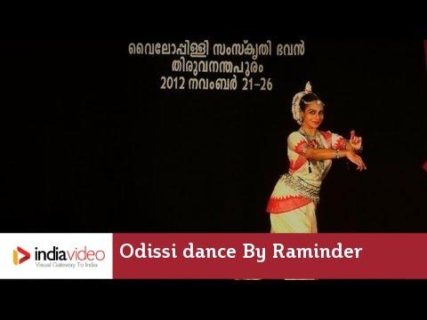 Odissi dance by Raminder Khurana, Mudra Fest 2012