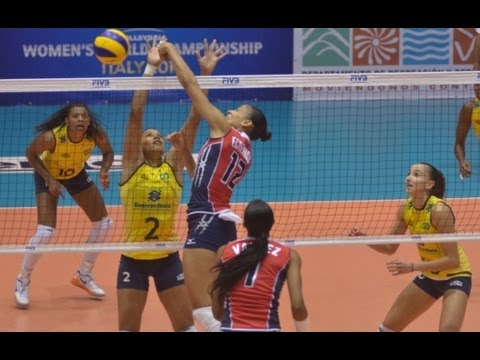 BRASIL X  REPÚBLICA DOMINICANA -  FIVB WORLD GRAND PRIX VOLLEYBALL 2013