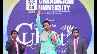 gurdas maan live at chandigarh university cu fest 2017 hd