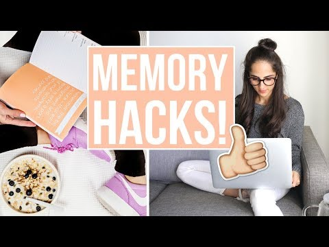 MEMORY HACKS | How to memorize ANYTHING fast and easily!