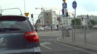 Stłuczka Warszawa Miasteczko Wilanów 29/05/2015