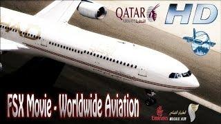 FSX Movie ᴴᴰ - Worldwide Aviation