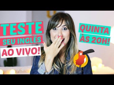 TESTE SEU INGLÊS AO VIVO! | English in Brazil