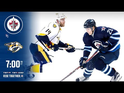NHL 18 PS4. REGULAR SEASON 2017-2018: Nashville PREDATORS VS Winnipeg JETS. 02.27.2018. (NBCSN) !