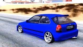 Honda Civic HB BLG - GTA San Andreas