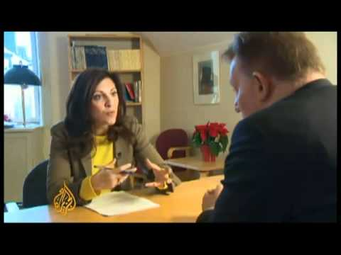 Claes Borgström - Lawyer of Ardin & Wilen is a friend of prosecutor (Assange case) Marianne Ny .flv