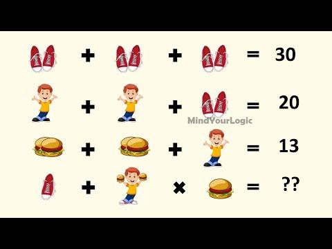 Boy Burger And Shoe Puzzle | Shoe Boy And Hamburger Puzzle Answer