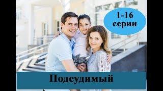 Сериал Подсудимый /1-16 серии/ полное описание серий / Анонс