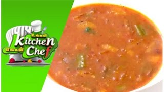 Karnataka Udupi Sambar - Ungal Kitchen Engal Chef (02/03/2015)