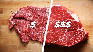 How To Cook A Cheap Steak Vs. An Expensive Steak thumbnail