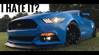 5 Things I HATE about my 2017 mustang gt
