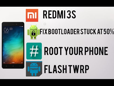 Redmi 3s/Prime - Fix bootloader unlock at 50% ,Root and Flash TWRP(No DATA Loss)